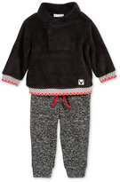 First Impressions Baby Boys' 2-Pc. Faux-Fur Sweater & Jogger Pants Set, Only at Macy's