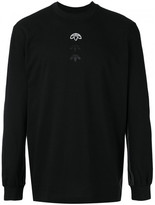 Adidas Originals by Alexander Wang long sleeve logo tee shirt