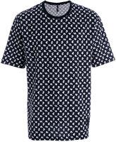 Versus logo pattern print T-shirt - men - Cotton - S