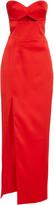 Rasario Exclusive Cutout Satin Gown