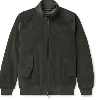 Baracuta G9 Stretch-Cotton Corduroy Harrington Jacket