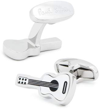 Paul Smith Guitar Mother-of-Pearl & Onyx Cufflinks