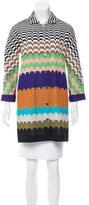 Missoni Patterned Short Coat