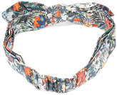 Maison Michel printed hairband