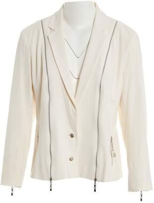 Christian Dior Ecru Viscose Jackets