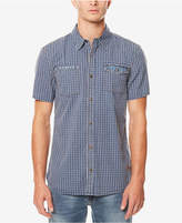 Buffalo David Bitton Men's Saugo - X Grid-Pattern Shirt