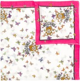 Moschino butterfly print scarf