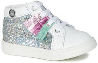 Catimini BRITA girls's Shoes (High-top Trainers) in White