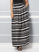 New York & Co. Eva Mendes Collection - Mari Jacquard Skirt - Stripe