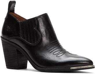 Frye Faye Leather Ankle Booties