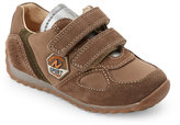 Naturino Toddler Boys) Brown and Olive Isao Velcro Sneakers