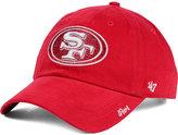 '47 Women's San Francisco 49ers Glitter Logo Clean Up Cap