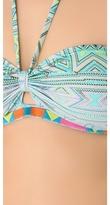 6 Shore Road Juju Embroidered Bikini Top