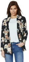 F&F Floral Print Double Breasted Blazer, Women's