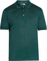Brioni Short-sleeved cotton-piqué polo shirt