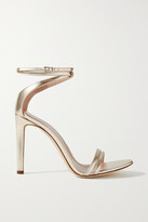 Thumbnail for your product : Giuseppe Zanotti Metallic Leather Sandals - Gold