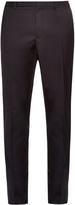 Lanvin Contrast-panel wool trousers