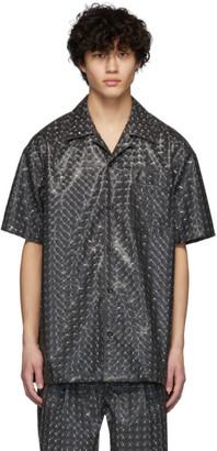 Doublet Grey Hologram Coating Shirt