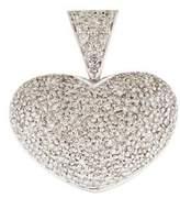 Pendant 14K Pavé Heart Diamond Pendant