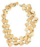 Karl Lagerfeld Multistrand Heart Necklace