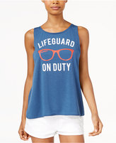 Hybrid Juniors' Lifeguard Graphic Tank Top