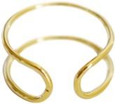 Alternative Cloverpost Cuff Midi Ring