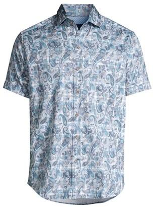 Robert Graham Shaw Paisley Print Sport Shirt