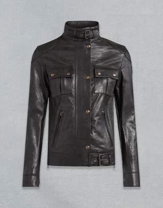 Belstaff Gangster Leather Jacket