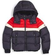 Moncler Boy's Aymond Hooded Down Jacket