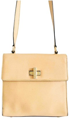 Celine Yellow Leather Handbags