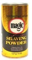 Soft Sheen Carson ORIGINAL MAGIC (DEPILATORY) NO RAZOR SHAVING POWDER 127GM STOPS RAZOR BUMPS FRAGRANT - GOLD by softsheen carson