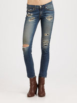 Rag and Bone The Skinny Repair Jeans