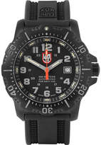 Luminox Anu 4221 Stainless Steel And Rubber Watch
