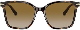 Bulgari square frame sunglasses