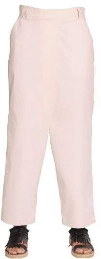 Incotex Ines Light Stretch Cotton Poplin Pants