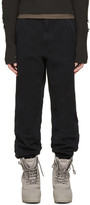 Yeezy Black Twill Worker Pants