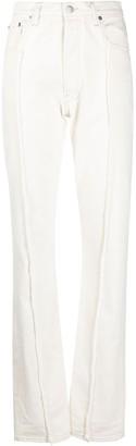 Maison Margiela Frayed Straight-Leg Jeans