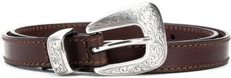 Kate Cate Engraved Western Belt