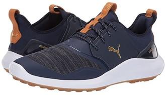Puma Ignite NXT (Black/Silver/White) Men's Golf Shoes