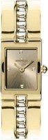Jacques Lemans 1-1423Z-Women's Quartz Analogue Watch-Stainless Steel Strap Golden