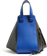 Loewe Hammock small contrast-panel leather tote