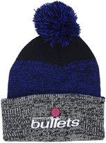'47 Washington Bullets Black Static Pom Knit Hat