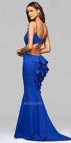 Faviana Ruffled Mermaid Prom Dress