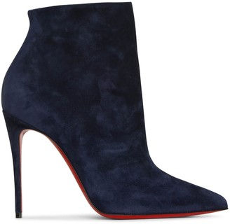 Christian Louboutin So Kate Booty 100 nocturne suede