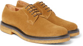 Dries Van Noten - Suede Derby Shoes