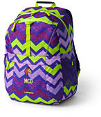Lands' End ClassMate Medium Backpack - Print-Star Foil Print