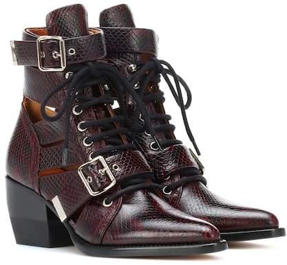 d16598f13 Chloé Purple Women s Boots - ShopStyle