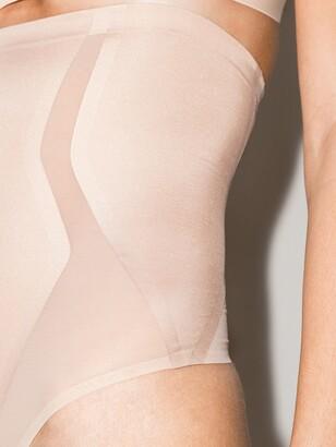 Spanx Neutral Haute Contour High-Waisted Thong