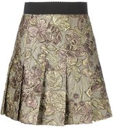 Dolce & Gabbana floral embroidered skirt