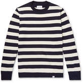Norse Projects Arild Striped Cotton and Linen-Blend Sweater